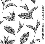 seamless black and white... | Shutterstock .eps vector #103161854