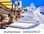 traditional greece   charming... | Shutterstock . vector #1031619217
