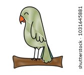 cute bird isolated icon   Shutterstock .eps vector #1031645881