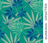 exotic seamless pattern with...   Shutterstock .eps vector #1031677555