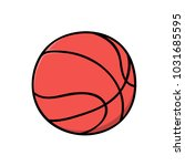 basketball vector   basket ball | Shutterstock .eps vector #1031685595