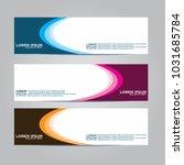 vector design banner...   Shutterstock .eps vector #1031685784
