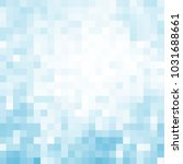 abstract square pixel mosaic... | Shutterstock . vector #1031688661