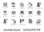 set of 15 flat icons  ... | Shutterstock .eps vector #1031693749