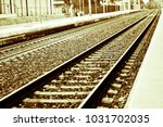 a track to get far | Shutterstock . vector #1031702035