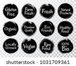 black and white bio organic...