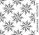 seamless flower pattern | Shutterstock .eps vector #1031710675