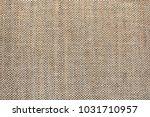 texture of natural linen fabric | Shutterstock . vector #1031710957