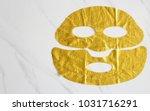 facial mask sheet. sheet mask... | Shutterstock . vector #1031716291
