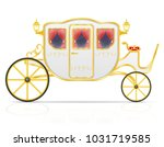 royal carriage for...   Shutterstock .eps vector #1031719585