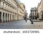 bucharest  romania   august 28  ... | Shutterstock . vector #1031720581