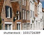 building in middelburg ... | Shutterstock . vector #1031726389