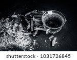 ayurvedic herb liquorice root... | Shutterstock . vector #1031726845