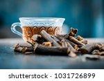 ayurvedic herb liquorice root... | Shutterstock . vector #1031726899