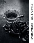 ayurvedic herb liquorice root... | Shutterstock . vector #1031726911