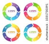 four steps infographics ... | Shutterstock .eps vector #1031730391