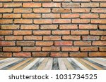 brick wall orange | Shutterstock . vector #1031734525