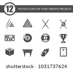 billiards vector icons for your ...