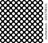 seamless white polka dot... | Shutterstock .eps vector #1031738131