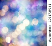 bokeh flare effect background... | Shutterstock . vector #1031739361
