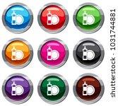 dishwashing liquid detergent... | Shutterstock . vector #1031744881