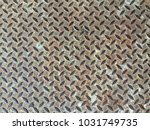 rusted steel sheet | Shutterstock . vector #1031749735
