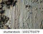 stains of mud with lumps in the ... | Shutterstock . vector #1031751079