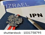 emblem of poland and the... | Shutterstock . vector #1031758795