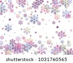 snowflake and circle elements... | Shutterstock .eps vector #1031760565