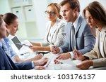 image of confident man... | Shutterstock . vector #103176137