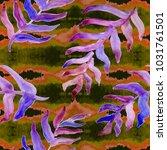 watercolor hand drawn summer...   Shutterstock . vector #1031761501