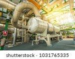 heat exchanger in process area...   Shutterstock . vector #1031765335