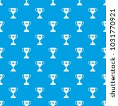 winner cup pattern repeat... | Shutterstock . vector #1031770921