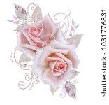decorative decoration  paisley... | Shutterstock . vector #1031776831