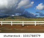 hawaiian landscapes  kauai ...   Shutterstock . vector #1031788579