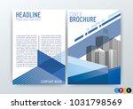 abstract modern background... | Shutterstock .eps vector #1031798569