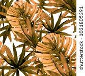 watercolor seamless pattern... | Shutterstock . vector #1031805391