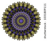 modern decorative cicle vector...   Shutterstock .eps vector #1031809111