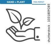 hand   plant icon. professional ...   Shutterstock .eps vector #1031809285