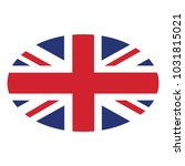 flag of united kingdom vector... | Shutterstock .eps vector #1031815021