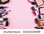 Cosmetic Bag And Makeup...