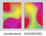 abstract cover template with... | Shutterstock .eps vector #1031832001