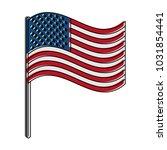 usa flag symbol | Shutterstock .eps vector #1031854441