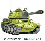 cartoon olive military army... | Shutterstock .eps vector #1031861341