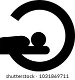 mra vector icon  | Shutterstock .eps vector #1031869711