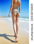 beautiful sexual young woman... | Shutterstock . vector #1031876005