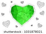 light green vector greeting... | Shutterstock .eps vector #1031878021