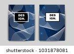 dark blue vector pattern for...