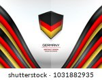 germany flag concept background ... | Shutterstock .eps vector #1031882935