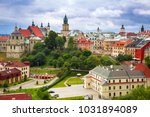architecture of the old town in ... | Shutterstock . vector #1031894089
